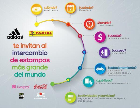 ¡No olviden que el sábado es el intercambio de estampas Panini más grande del mundo desde el @EstadioAzteca ! http://t.co/nfjiBvhVaI
