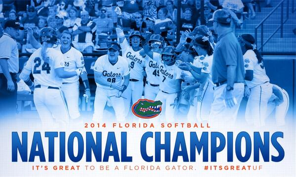 For the first time in program history, the #Gators are national champions! #ItsGreatUF http://t.co/CvgRTJiOsT