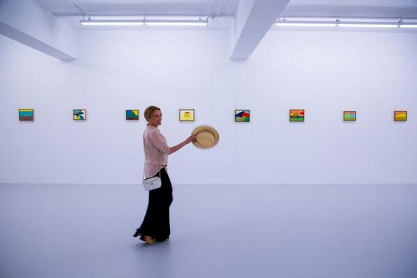 Thank you for visiting Mathaf @kylieminogue . We hope you enjoyed the Etel Adnan exhibition. http://t.co/FQkDY2YxZ4