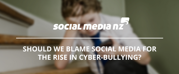 Should we blame #socialmedia for the rise in cyber-bullying? By @shawnmoodie - http://t.co/J9x8L3Qklv http://t.co/2SQT4RU2ps