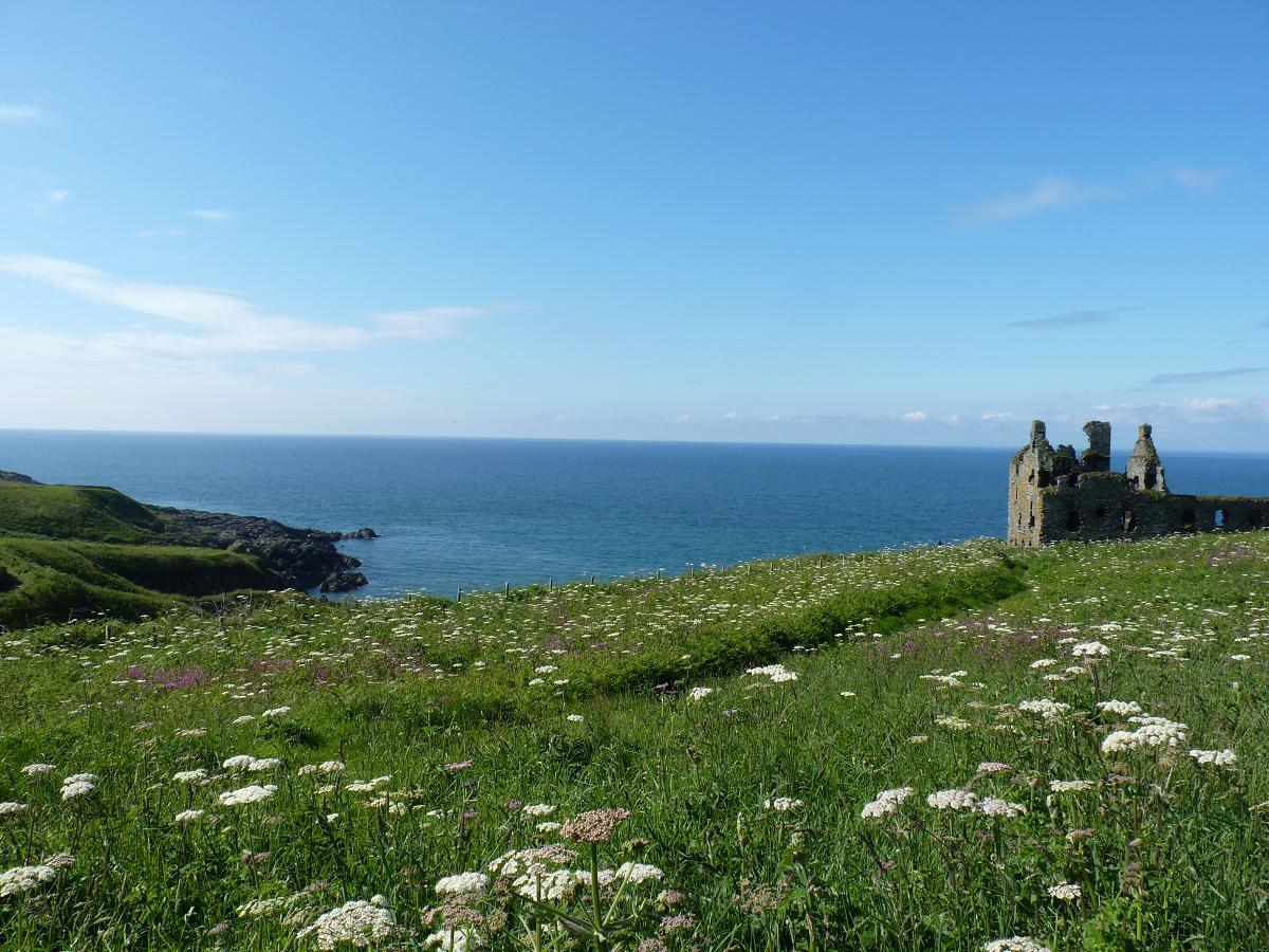 Dunskey Castle in Dumfries and Galloway yesterday @VisitScotland http://t.co/CcCnuRKJqe