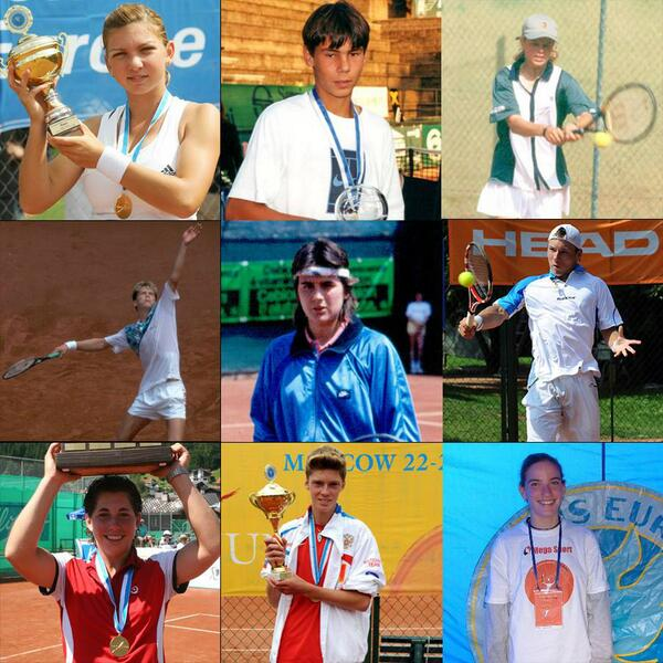 15 former European Junior Champions will be on court at @rolandgarros today Former, current and future greats! http://t.co/z9JDMibWPC