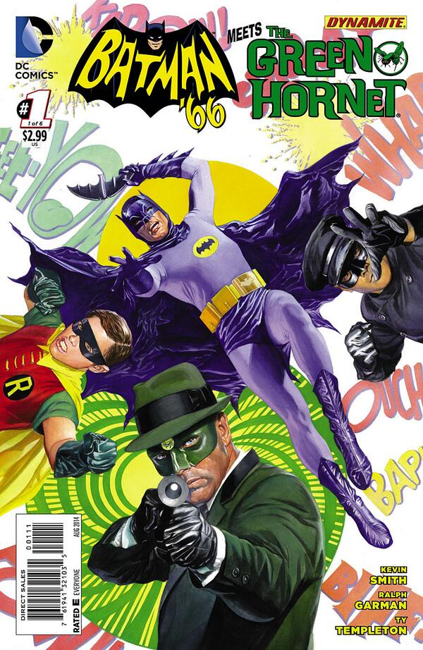BATMAN '66 MEETS GREEN HORNET is out today! From @DCComics, @DynamiteComics, @ThatKevinSmith, @tytempleton and me! http://t.co/LBOayCwNSZ