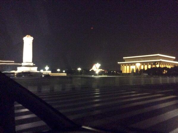 Was @backtotiananmen at 10PM June 3rd, in police custody at 11PM, on board CA 985 to SF 340PM June 4th. #TAM25 http://t.co/zGJEX6ke7F