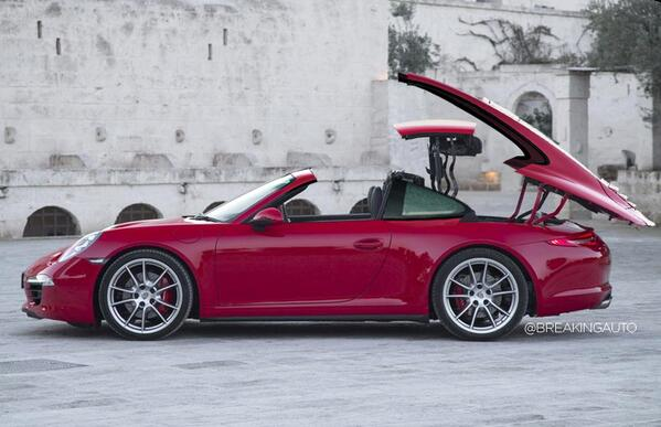BREAKING: #Porsche unveils all-new sunroof mechanism for 2015 911 Carrera coupe http://t.co/YHPvSpUdWD