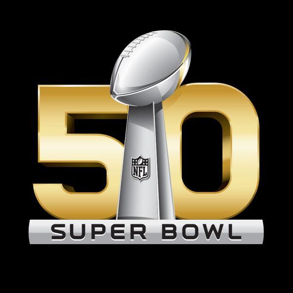 The logo for Super Bowl 50. #SB50 http://t.co/xYnrZs0QPd