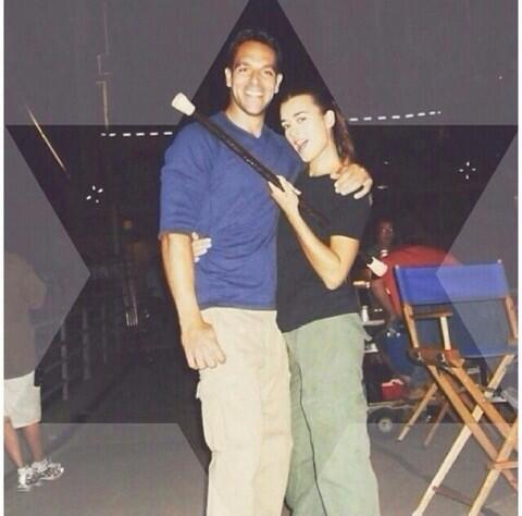 poster from #NCIS the musical. #cotedepablo & I do a tap routine