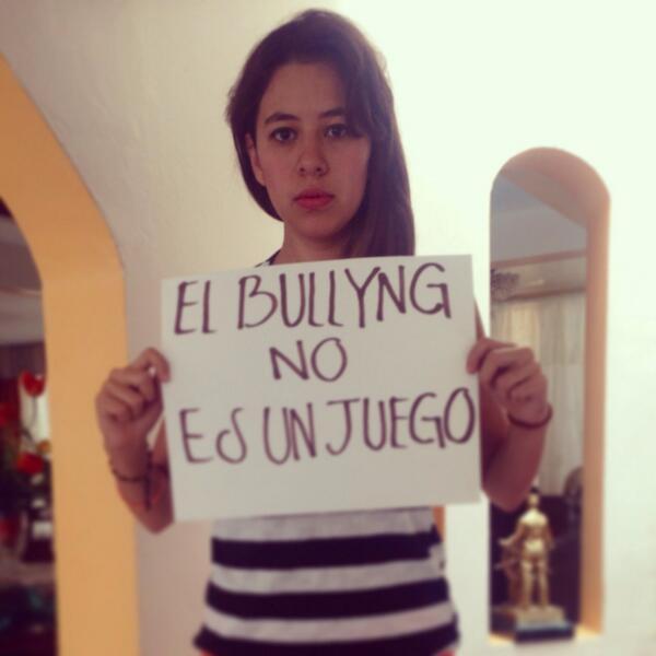 #ElBullyingNoEsUnJuego hagamos conciencia!.