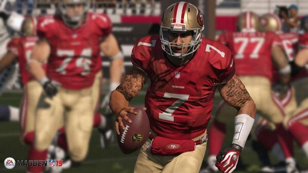 First screenshot from Madden NFL 15 released http://t.co/pxxUeMFC8x