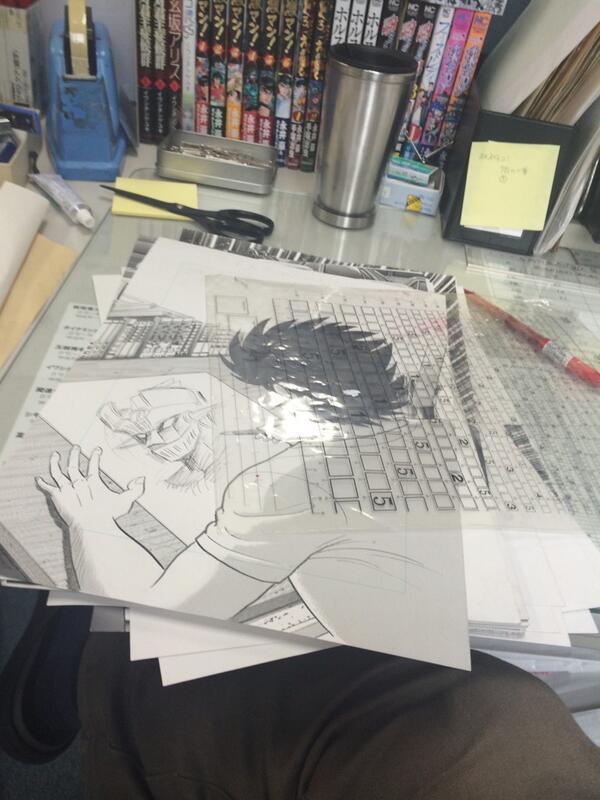 【漫画ゴラクからお知らせ】 7月4日発売の週刊漫画ゴラクより 永井豪先生の『激マン!マジンガーZ編』連載スタートです‼︎  まだ先の話ですいません。編集作業してたら、あんまり面白いんでフライングツイートしちゃいました! (いわ) http://t.co/ZDDZFnkpZV