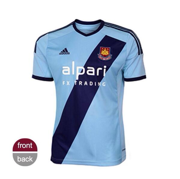 BpWvp SIgAAgN s OFFICIAL: West Ham unveil their new 2014 15 away kits, looks like a Thunderbirds outfit [Pictures & Video]