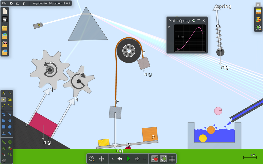 RT @campSTEM: Wow! Downloadable physics playground. Experiment with lots of structures & forces #edchat http://t.co/B0fiNA8lij #campSTEM #S…