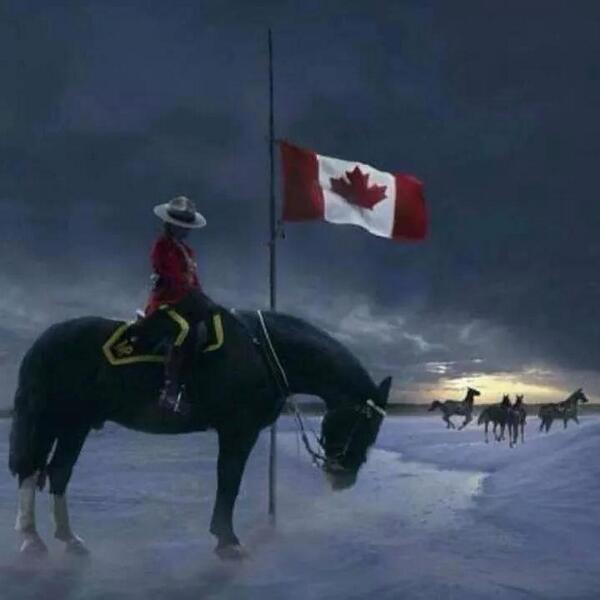 Incredibly saddened by the loss of the brave RCMP officers who made the ultimate sacrifice protecting our safety. :( http://t.co/iLORyuSfrP