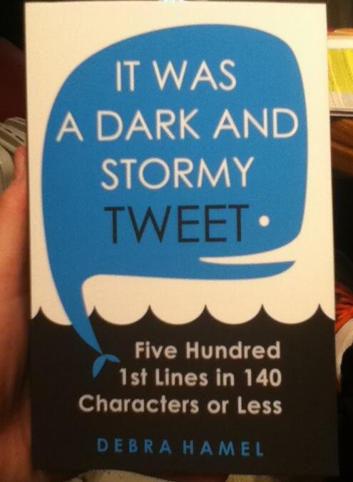 I must say, the paperback of It Was a Dark and Stormy Tweet looks awfully nice. http://t.co/XapsRJyW6w http://t.co/UDPG6Uv3DC