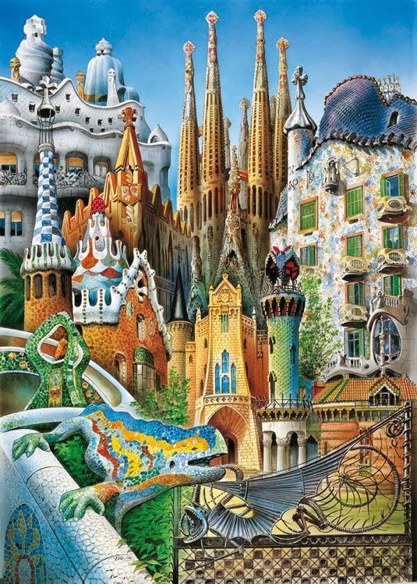 Las obras de antoni gaud est n declaradas patrimonio de - Art nouveau architecture de barcelone revisitee ...