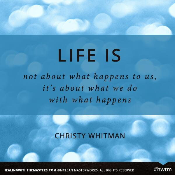 """Life is not about what happens to us. It's about what we do with what happens."" http://t.co/rdY7chd3PY #quotes http://t.co/u3j0DKeibv"