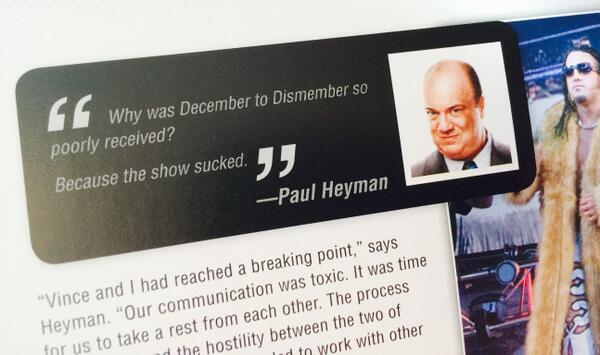 One of my favorite quotes from WWE 50 came from @HeymanHustle ... You can get the book here: http://t.co/svMPMXuC0I http://t.co/ugFrBCJww5