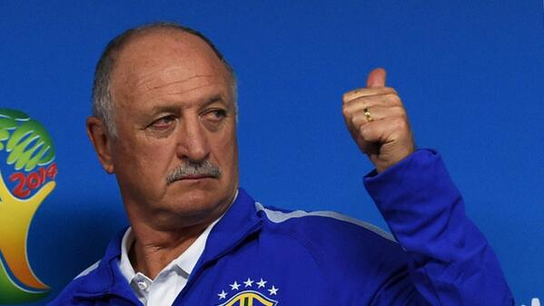 Bp nSq1CYAIK5Xx Why are you lying? Brazil coach Luiz Felipe Scolari: The penalty on Fred was the correct decision [Video]