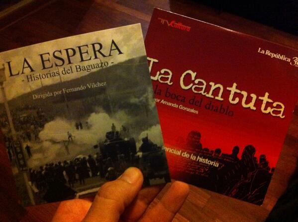 bien x @larepublica_pe por darnos este material para nunca olvidar. Antes fue #LaCantuta hoy #LaEspera http://t.co/9CADIyiZgh