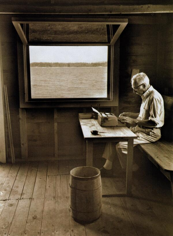 A writer who waits for ideal conditions under which to work will die without putting a word on paper. E.B. WHITE http://t.co/EflxJHFm3D