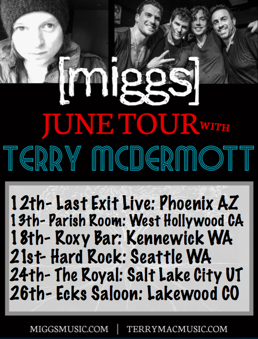 Who is coming to a show w/ @miggsmusic & @TerryMacMusic #phoenix #Hollywood #kennewick #seattle #SaltLakeCity #denver http://t.co/dom0vxOp6s