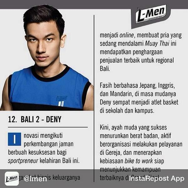 Support @denyhimawan84 for Grand final @LMen 2014 cc @LMenBali #Invincible# http://t.co/7sgWFvXzdg