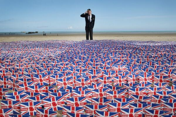 Honor the bravery, courage & sacrifice of 156,000 troops that landed in Normandy - can we get that many RTs http://t.co/4qD0uU8iE4