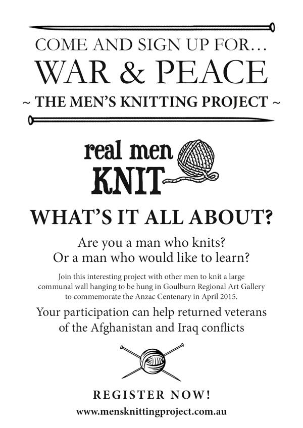 New Community Project: Men Knitters Only! For men who knit & those who would like to learn: http://t.co/yUXGmWkEXX http://t.co/NyFV0xdOJN