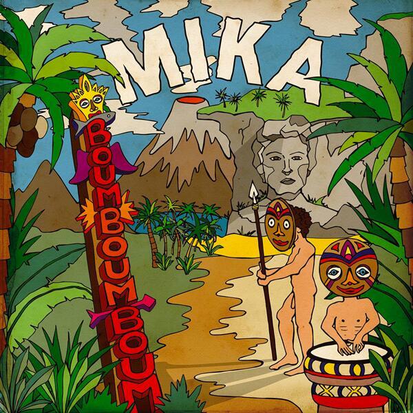 BOUM BOUM BOUM is the new single of @mikasounds out next June 11th!! Hooray!!! #BoumBoumBoum #MIKA http://t.co/a0Rg86sL9Q