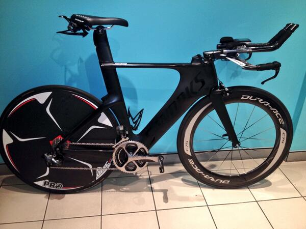 """""""@MattyWhite77: Looking good Matty. Good luck out there.  @PumpNPedals @ShimanoTRI @Specialized_AU http://t.co/h4sVyGKsRn"""""""