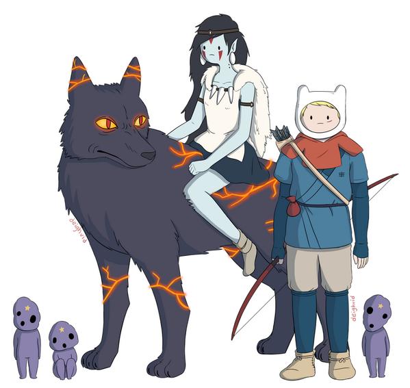 test ツイッターメディア - 可愛くなった『もののけ姫』キャラクターたち https://t.co/mF43zzR4cK