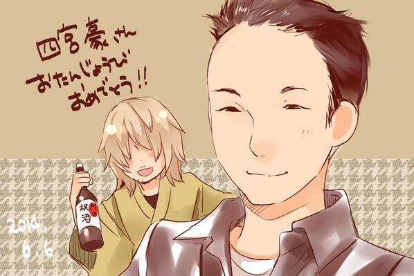 シロさん役の四宮さん、お誕生日おめでとうございます!私は河合荘アニメの大忙しな次回予告が好きなのですが、アフレコ行ったと