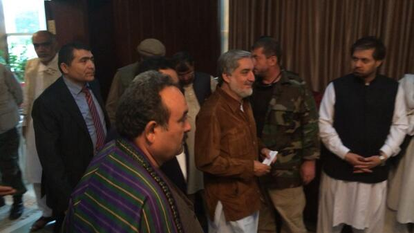 Abdullah Abdullah looks fine after the assassination attempt
