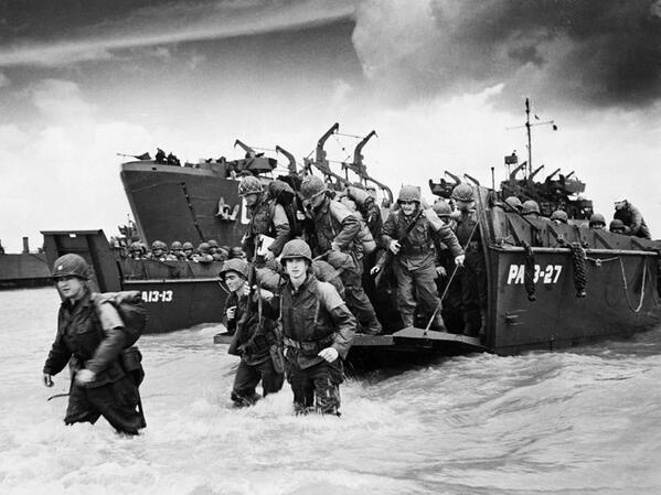 Today we honor those brave Americans who stormed the beaches of Normandy and saved the world from darkness. http://t.co/lYMGNwpSca