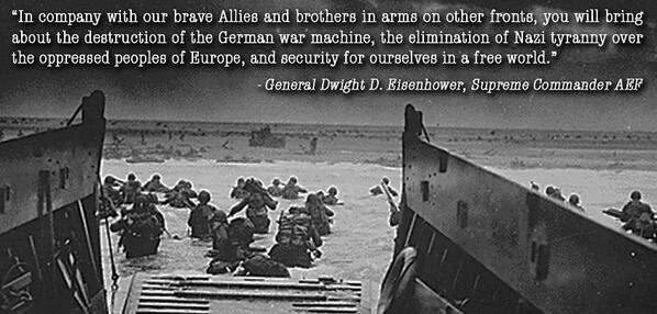 Friends of NRA remembers June 6, 1944, when Allied forces stormed the beaches of Normandy. #DDay70 #OperationOverlord http://t.co/9Bt7T23xBB