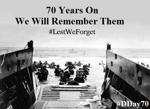 To those who gave their lives but also those who carry visible & invisible injuries - Thank You #LestWeForget #DDay70 http://t.co/h2Bndct94i