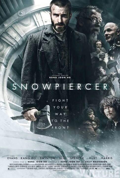 """Новый американский постер фильма """"Сквозь снег"""" с Крисом Эвансом. У него есть топор, и он готов им воспользоваться. http://t.co/v3gLSzCj73"""
