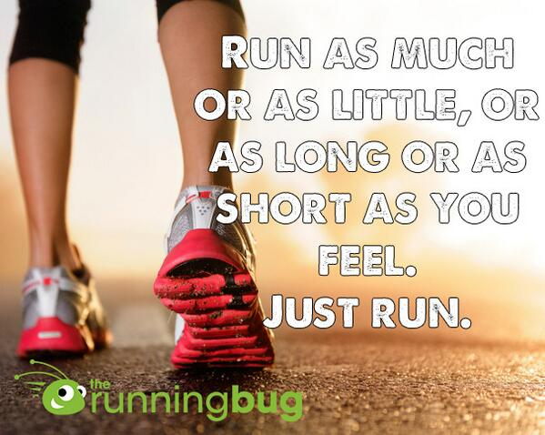 I try and tell myself this when I run. RT if you agree! #fitspo #motivation http://t.co/sDo8dYi3Rh