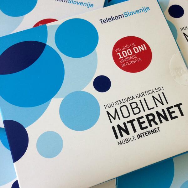 Podarjamo 5 paketov Predplačniškega mobilnega interneta! Sodeluješ z RT in tako, da nam slediš :) http://t.co/xBn5eYphDI