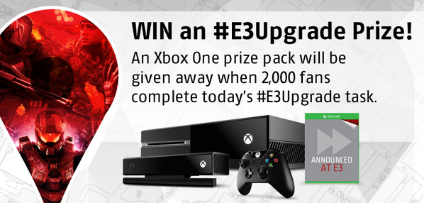 #E3Upgrade 5: The #E3 Pre-Order deal is ON! https://t.co/XPNnFJOTHo SAVE up to $20 per game! Retweet to enter! http://t.co/T7eQtvvyE8