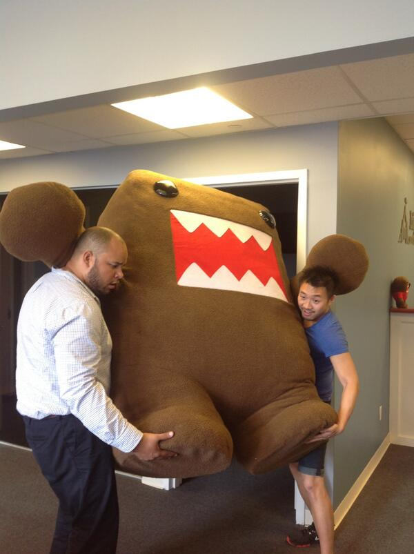 Domo feels your pain #lebroning http://t.co/uLU2v8JouU
