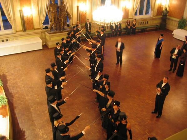 In Finland, you are given a top hat and sword when you get a PhD diploma. http://t.co/LMpCduG0hx