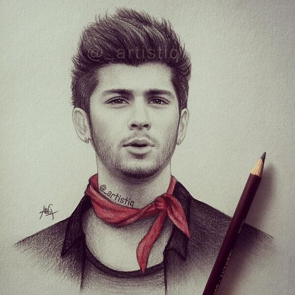 Zayn malik drawing tumblr