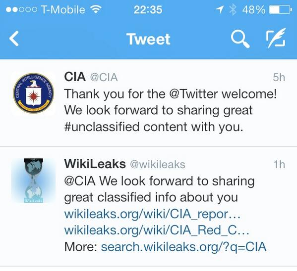 And then @wikileaks pwns @CIA https://t.co/ndh2CDFvLu #reasonsilovetwitter http://t.co/XUS9kSx0ua
