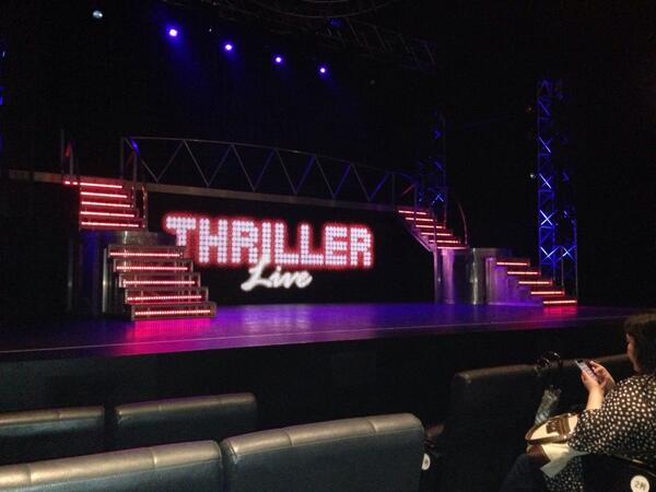 I came to see Thriller Live again http://t.co/duGi9M9X0I