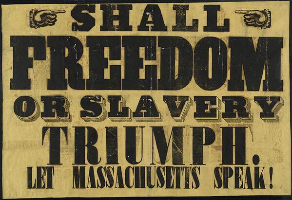 Anti-Slavery Broadsides from the Boston Public Library ☞ https://t.co/VkKqPONkj0 http://t.co/otOT820rsm