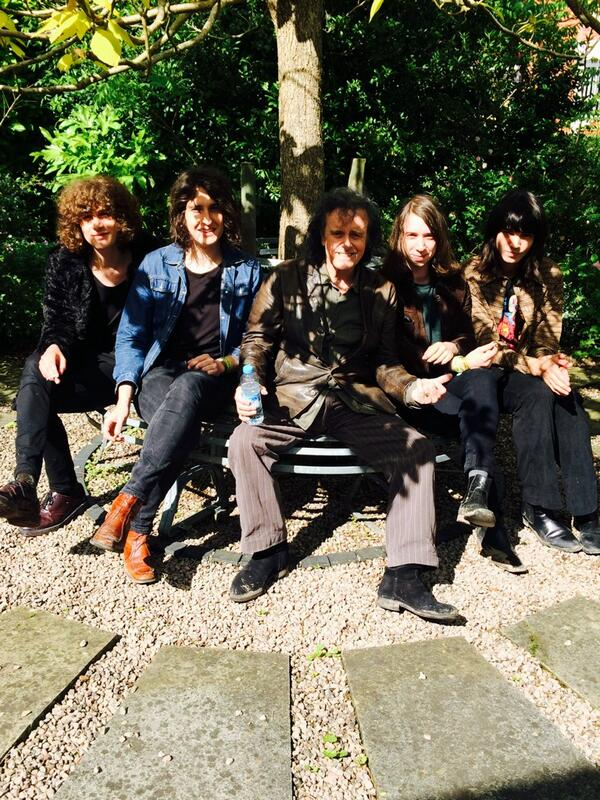 Me and Temples after our rehearsal for the Lunar Festival. http://t.co/BzZkYnSHiZ