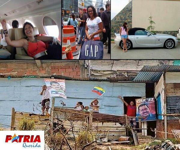 Hay dos tipos de chavistas http://t.co/cWpKHOeKRS