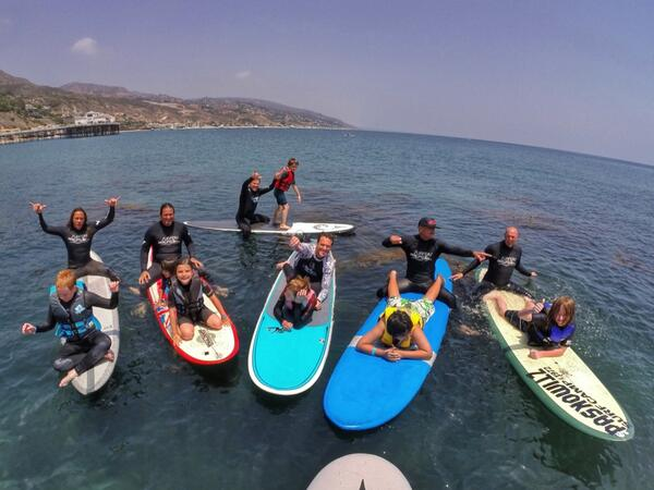 What an amazing day @SurfersHealing event in Malibu went perfect! Here's a #GoPro photo from the lineup #AutismSpeaks http://t.co/GxCcvN0S2g