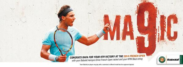 Do you believe in #MA9IC? @RafaelNadal http://t.co/wK2ZBfjQ1Q